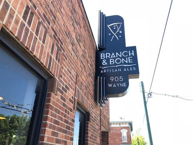 Brand & Bone sign in Dayton, Ohio