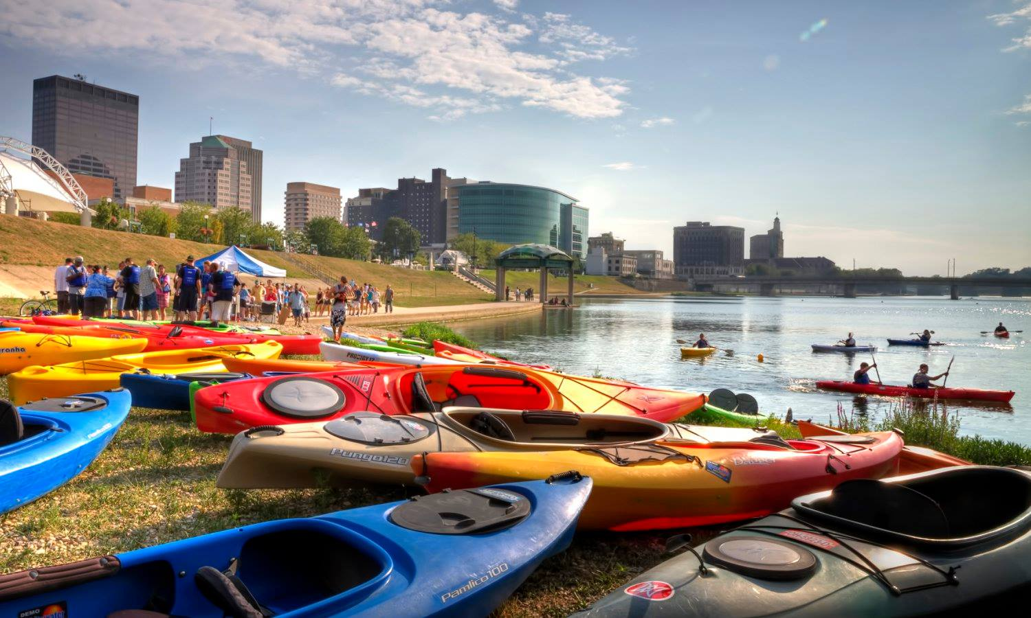 kayaks in Dayton, Ohio