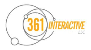 361 Interactive logo in color