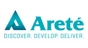 Areté Associates logo in color