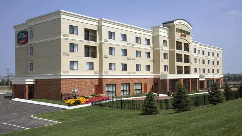 Courtyard By Marriott Hotel in Dayton, Ohio