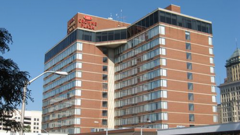 Crowne Plaza Hotel in Dayton, Ohio